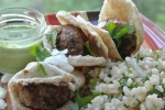Middle Eastern Bison Pita Sliders