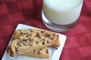 Chocolate Chip Mandel Bread