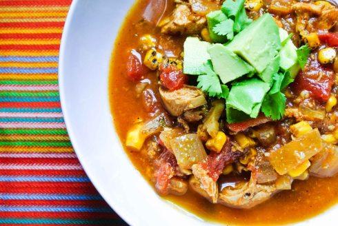 Chicken Tortilla Soup-5