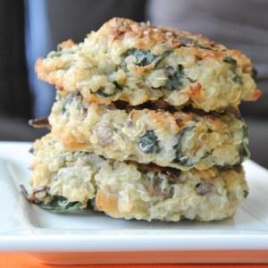 Quinoa Breakfast Cakes-3