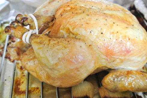 Roasted Chicken with Lemon-2