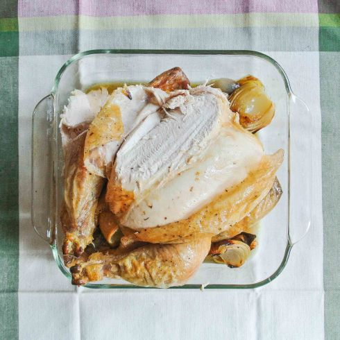 Roasted Chicken with Lemon-8