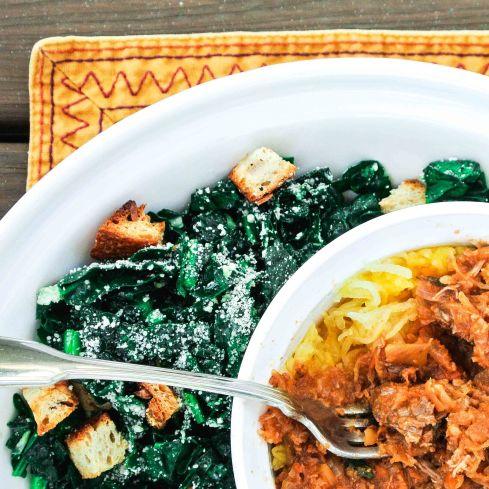 Ragu + Salad = Dinner