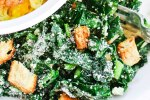 Easy Kale Salad with Lemon-Garlic Dressing