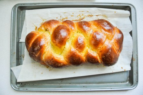 Four Braid Challah-5