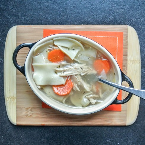 Healthy Chicken Noodle Soup-8